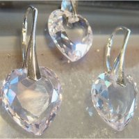 Cubic zirkonia sets with Silver