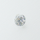 Diamant 2,50 mm G/SI1 briliantový brus
